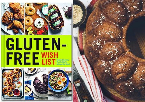 Gluten-Free Challah Recipe from Gluten-Free Wish List by Jeanne Sauvage | Room 2046 Toronto Canada