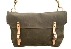 Madrad Textiles Commuter Waxed Canvas Bag - Olive | Room 2046 Toronto Canada