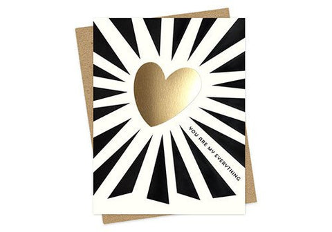 Night Owl Paper Goods My Everything Valentine Card | Room 2046 Toronto Canada