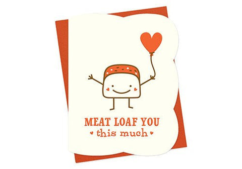 Night Owl Paper Goods Meat Loaf You Letterpress Card | Room 2046 Toronto Canada