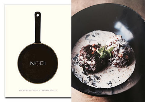 Lamb Meatballs with Warm Yogurt and Swiss Chard recipe from Nopi by Yottam Ottolenghi & Ramael Scully | Room 2046 Toronto Canada