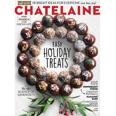 Stocking Stuffer Idea - Chatelaine Magazine Gift Guide featuring Ceramic mason jar from Room 2046 Toronto Canada