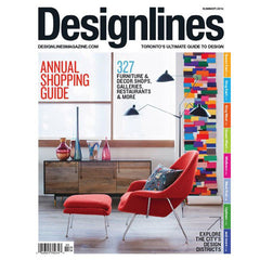 Designlines Magazine: Summer 2014 Shopping Guide featuring Room 2046