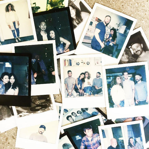 Polaroids from the Room 2046 5th anniversary party