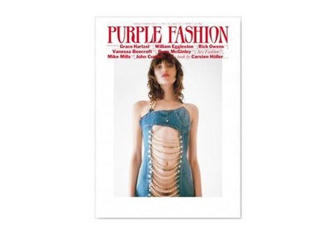 Purple Fashion Magazine Vol. 3 Issue 27 S/S 2017 available from Room 2046 cafe shop studio Toronto Canada