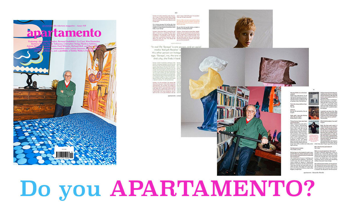 Apartamento Magazine Issue 19 Spring summer 2017 available from Room 2046 Toronto Canada