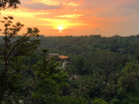 Indonesia: A Photo Essay - Sunset in Ubud, Bali