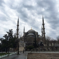 From Istanbul with Love: A City Guide - Blue Mosque instagram @room2046toronto