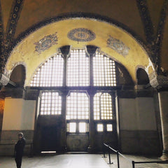 From Istanbul with Love: Hagia Sophia - instagram @room2046toronto