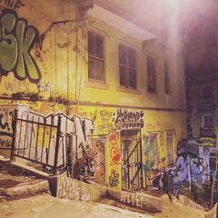 From Istanbul with Love: A City Guide - Street at Night