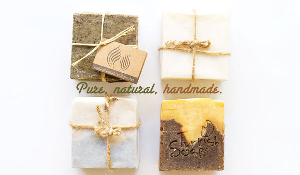 Natural, pure soaps from Turkey available in Room 2046 Concept Design Shop, Toronto Canada