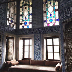 From Istanbul with Love: Topkapi Palace - instagram @room2046toronto