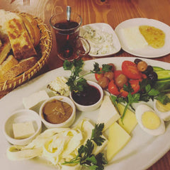 From Istanbul with Love: Turkish breakfast - instagram @room2046toronto