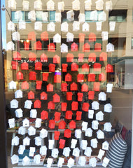 Room 2046 Valentine window display on Yonge St Summerhill Toronto