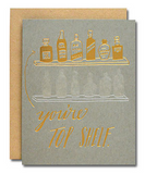 You're top Shelf Card | in Room 2046 Concept Design Shop Cafe Studio Yonge Summerhill Toronto Canada