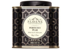 Sloane Tea Perfectly Pear Loose Leaf Tea available from Room 2046 cafe shop studio Toronto Canada