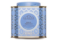 Sloane Tea Rouge Provence Loose Leaf Tea available from Room 2046 cafe shop studio Toronto Canada