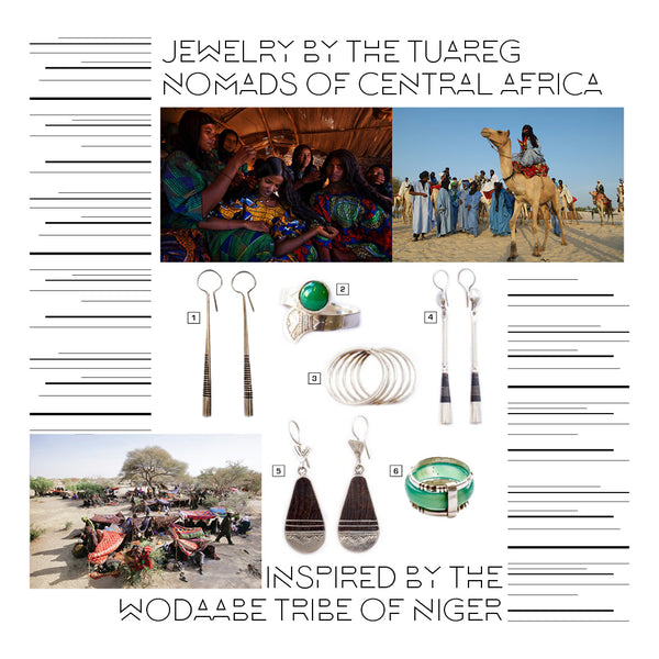 Tuareg Jewelry from Central Africa | Room 2046 Toronto Canada