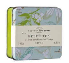 Scottish Fine Soaps Company Green Tea Soap | Room 2046 Yonge Street Summerhill Toronto Canada