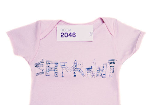 Room 2046 Weekdays Baby Pink One-Piece 6-12 months