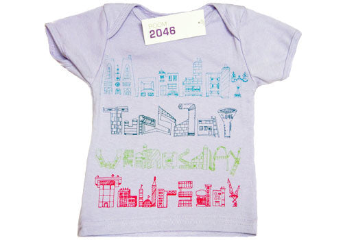 Room 2046 Weekdays Limited Edition Purple Lap Shirt