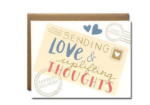 9th Letter Press Sending Love Greeting Card | Room 2046 Toronto Canada