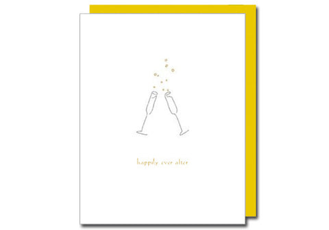 Albertine Press Happily Ever After Wedding Card | Room 2046 Toronto Canada