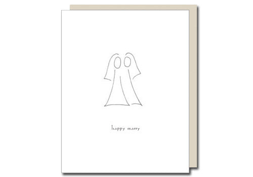 Albertine Press Happy Marry Dames Wedding Card | Room 2046 Toronto Canada