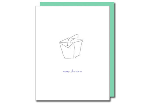 Albertine Press Chinese Take Out Christmukkah Card | Room 2046 Toronto Canada