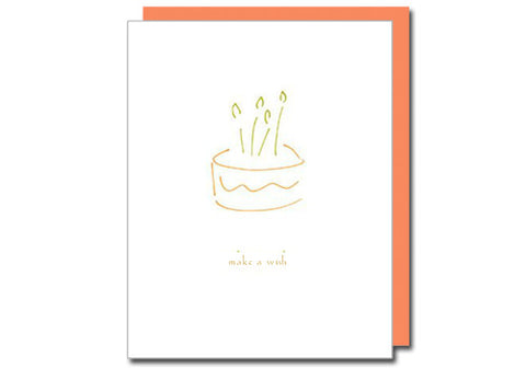 Albertine Press Make a Wish Birthday Card | Room 2046 Toronto Canada