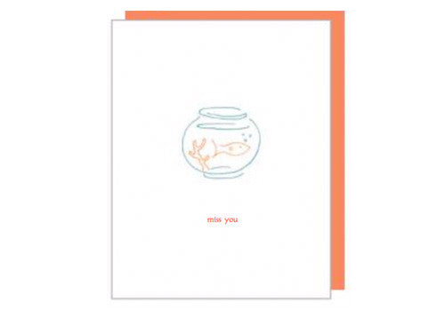 Albertine Press Miss You Card | Room 2046 Toronto Canada
