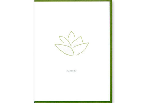 Albertine Press Namaste Card | Room 2046 Toronto Canada