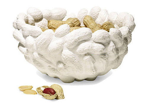 Areaware Peanut Bowl - White