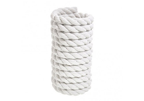 Areaware Reality Coil Rope White Vase | Room 2046 Toronto Canada