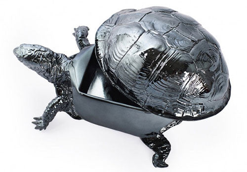 Areaware Box Turtle Box - Gun Metal | Room 2046 Toronto Canada