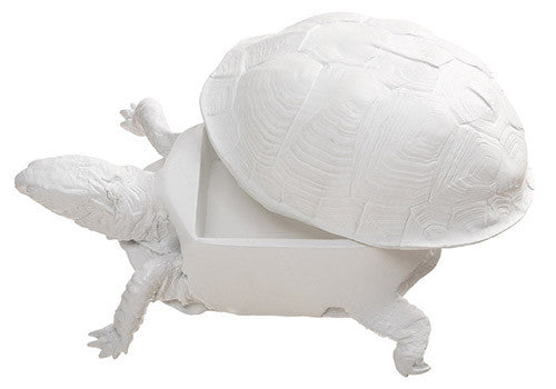 Areaware Box Turtle Box - White