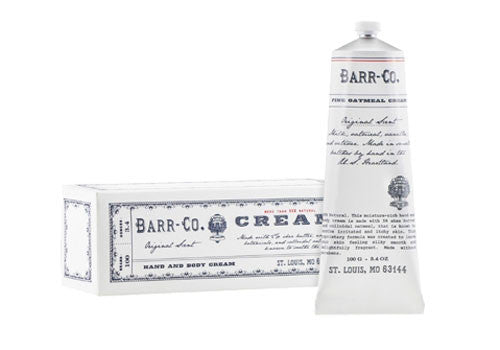 BARR-CO Original Scent Hand Cream in Tube