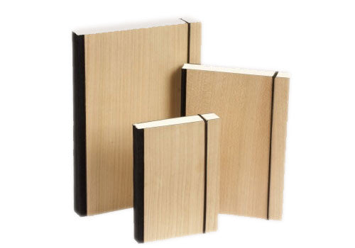 Bindewerk PURIST WOOD notebook | Room 2046 Toronto Canada