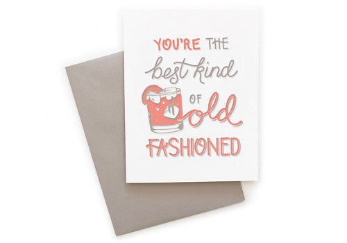Belle and Union Best Old Fashioned Card | Room 2046 Toronto Canada