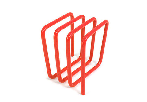 Block Design Letter Rack - Orange | Room 2046 Toronto Canada