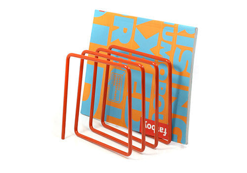 Block Design Magazine Rack - Orange | Room 2046 Toronto Canada