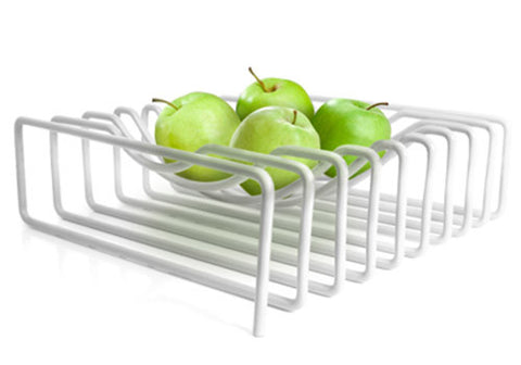 Block Design White Wire Fruit Bowl | Room 2046 Toronto Canada