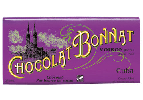 Chocolat Bonnat Cuba Dark Chocolate - 75% | Room 2046 Toronto Canada