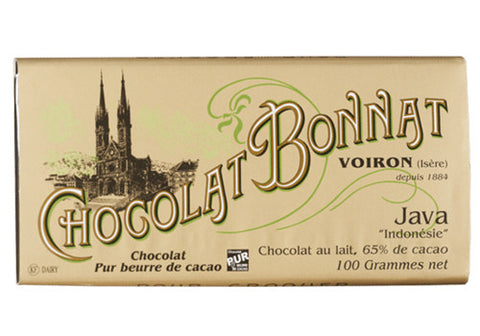 Chocolat Bonnat Java Milk Chocolate - 65% | Room 2046 Toronto Canada
