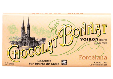 Chocolat Bonnat Porcelana Dark Chocolate - 75% | Room 2046 Toronto Canada