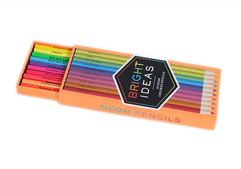 Bright Ideas: 10 Neon Colored Pencils | Room 2046 Toronto Canada