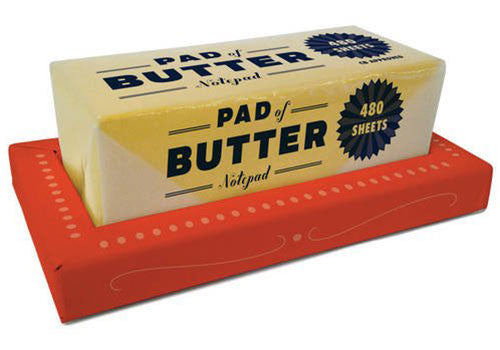 Pad of Butter Notepad | Room 2046 Toronto Canada