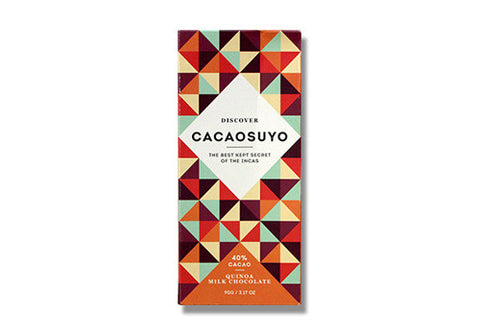 Cacaosuyo Quinoa Crunch Milk Chocolate - 40% | Room 2046 Toronto Canada