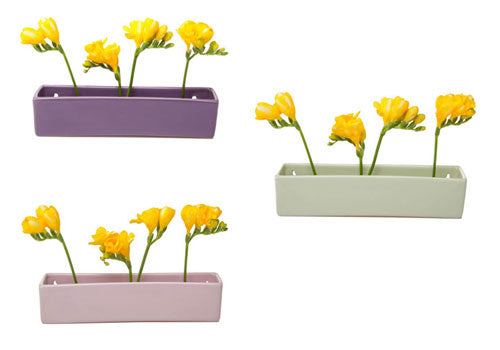 Chive Wall Planter Brick Set of 3