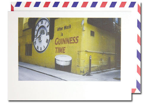 Dani Press After Work Guinness Polaroid Airmail Card | Room 2046 Toronto Canada